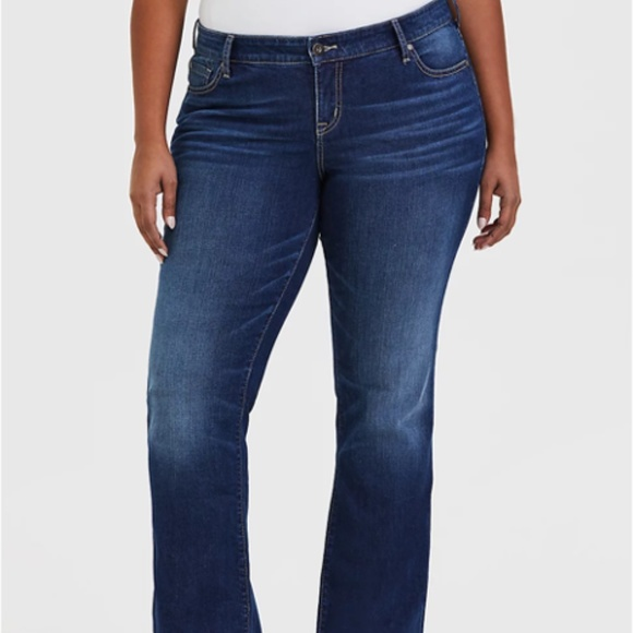 Torrid Relaxed Boot Cut Jean Size 18